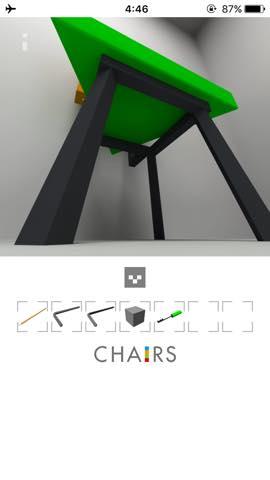 Th  脱出ゲーム 椅子 攻略 3004