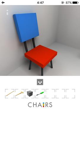 Th  脱出ゲーム 椅子 攻略 3009