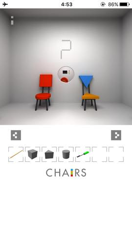 Th  脱出ゲーム 椅子 攻略 3021