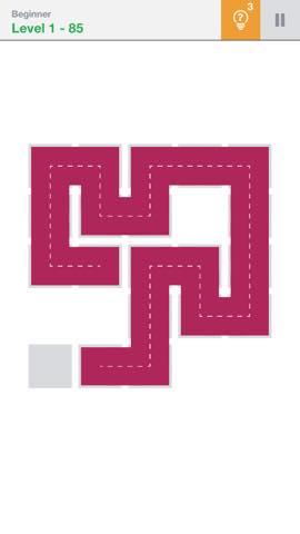 Th 頭が良くなる一筆書きパズル Fill 」 攻略 2179