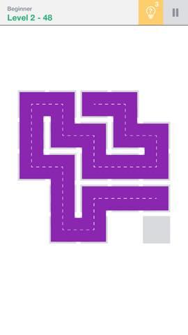 Th 頭が良くなる一筆書きパズル Fill 」 攻略 2242
