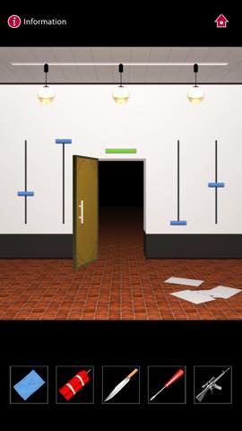Th  脱出ゲーム  ゴルゴ13 DOOORS(Doors) 攻略 3110