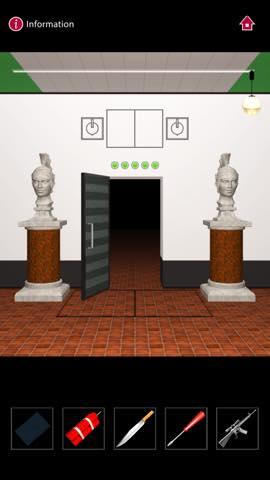 Th  脱出ゲーム  ゴルゴ13 DOOORS(Doors) 攻略 3125