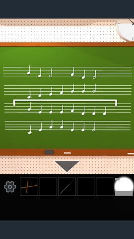Th  脱出ゲーム 学校の音楽室から脱出    攻略 2666