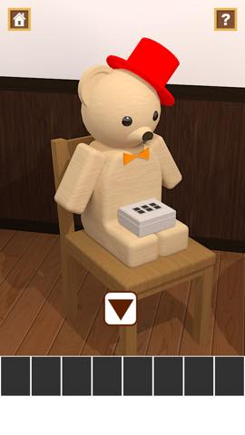 Th 脱出ゲームアプリ Wooden Toy  攻略 2346