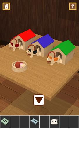 Th 脱出ゲームアプリ Wooden Toy  攻略 2362
