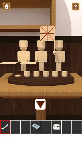 Th 脱出ゲームアプリ Wooden Toy  攻略 2370
