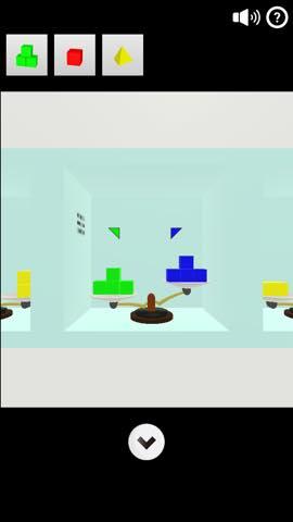Th 脱出ゲーム Cubes   攻略と解き方 ネタバレ注意 1125