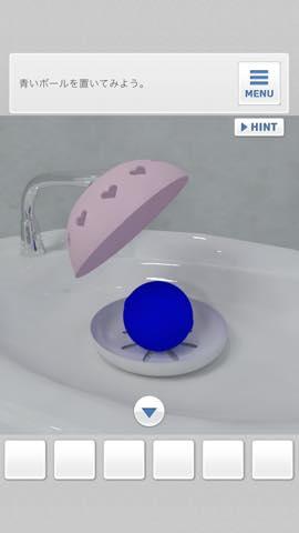 脱出ゲーム Bathroom  攻略と解き方 ネタバレ注意  4002