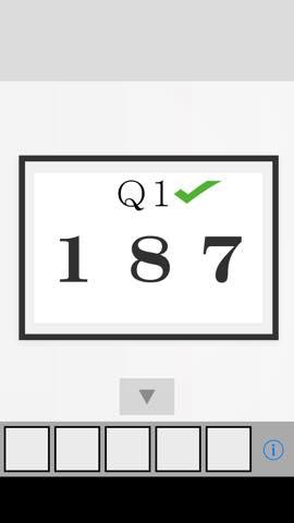Th 脱出ゲーム Q  攻略と解き方 ネタバレ注意  2940