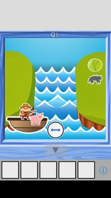 Th 脱出ゲーム river(リバー)    攻略と解き方 ネタバレ注意  2697