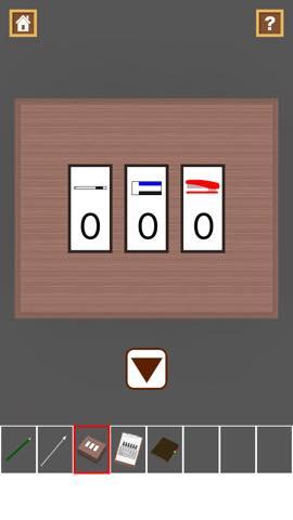 脱出ゲーム Stationery  攻略と解き方 ネタバレ注意  3040