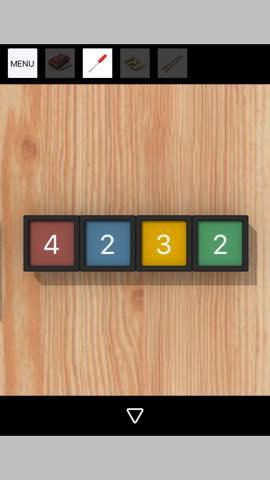 脱出ゲーム Log House 攻略とヒント ネタバレ注意  4836