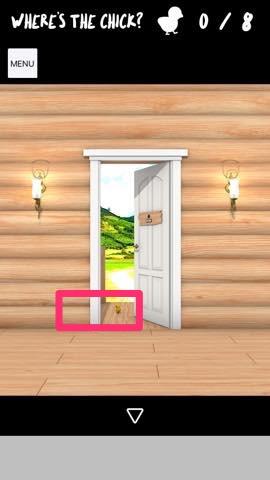 脱出ゲーム Log House 攻略とヒント ネタバレ注意  4844