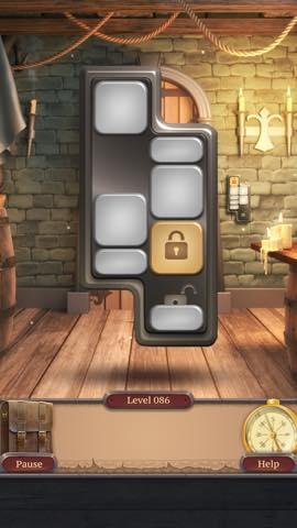 脱出ゲーム  100 Doors Challenge 2  攻略とヒント ネタバレ注意  lv86 9