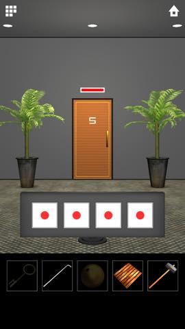 脱出ゲーム DOOORS 5  攻略とヒント ネタバレ注意  5627