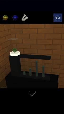 脱出ゲーム ガラス工房 綺麗なガラスが並ぶ工房からの脱出  攻略とヒント ネタバレ注意  1331