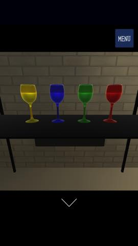 脱出ゲーム ガラス工房 綺麗なガラスが並ぶ工房からの脱出  攻略とヒント ネタバレ注意  1348