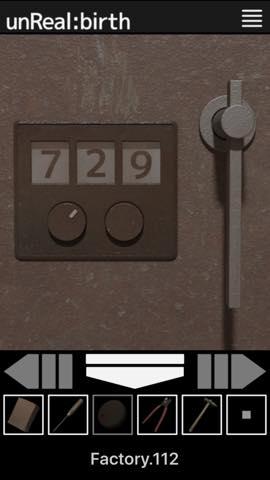脱出ゲーム unReal:birth 攻略とヒント ネタバレ注意  1436