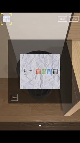 脱出ゲーム HOTEL 502号室 攻略とヒント ネタバレ注意  1