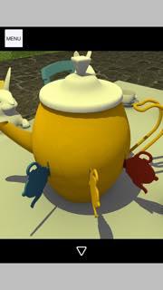 脱出ゲーム Tea Party 攻略とヒント ネタバレ注意  5403