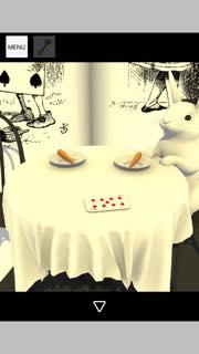脱出ゲーム Tea Party 攻略とヒント ネタバレ注意  5415