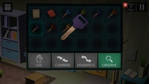 Th Adnroidスマホゲームアプリ「拘留室:脱出ゲーム」攻略 lv1 6