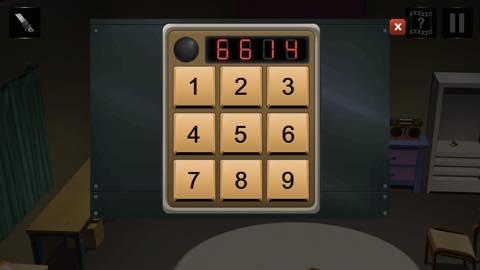 Th Adnroidスマホゲームアプリ「拘留室:脱出ゲーム」攻略 lv4 4