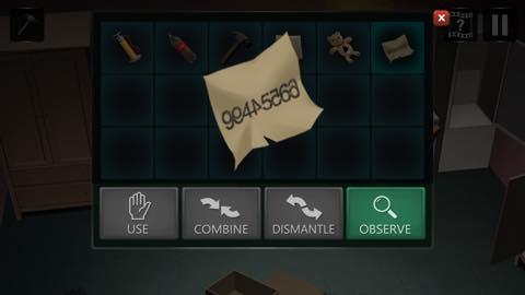Th Adnroidスマホゲームアプリ「拘留室:脱出ゲーム」攻略 lv9 16