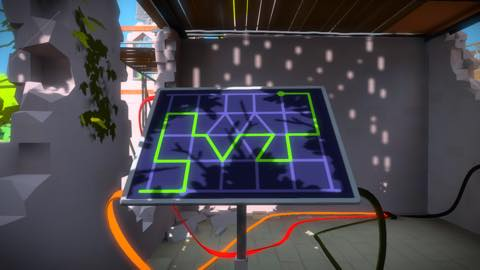 Th iPhoneゲームアプリ「The Witness」攻略 1897