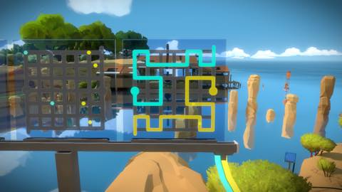 Th iPhoneゲームアプリ「The Witness」攻略 1928