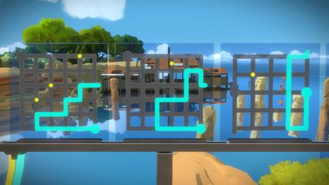 Th iPhoneゲームアプリ「The Witness」攻略 1933