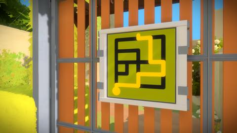 Th iPhoneゲームアプリ「The Witness」攻略 1995