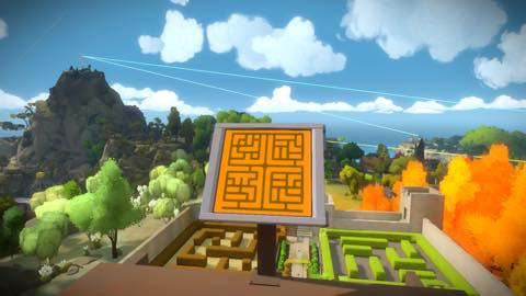 Th iPhoneゲームアプリ「The Witness」攻略 1996