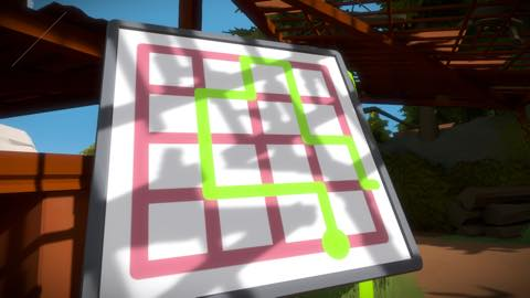 Th iPhoneゲームアプリ「The Witness」攻略 2040