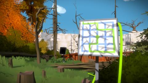 Th iPhoneゲームアプリ「The Witness」攻略 2044