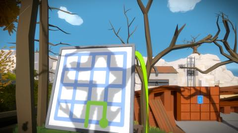 Th iPhoneゲームアプリ「The Witness」攻略 2045