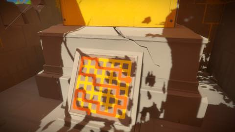 Th iPhoneゲームアプリ「The Witness」攻略 2056