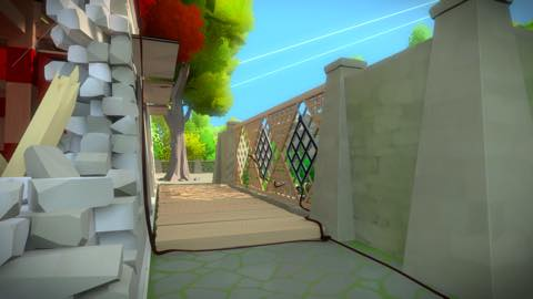 Th iPhoneゲームアプリ「The Witness」攻略 2062