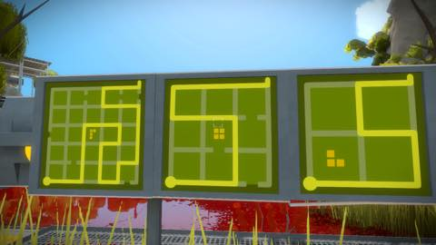 Th iPhoneゲームアプリ「The Witness」攻略 2078