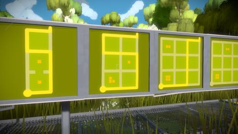 Th iPhoneゲームアプリ「The Witness」攻略 2080