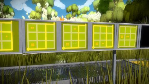 Th iPhoneゲームアプリ「The Witness」攻略 2081