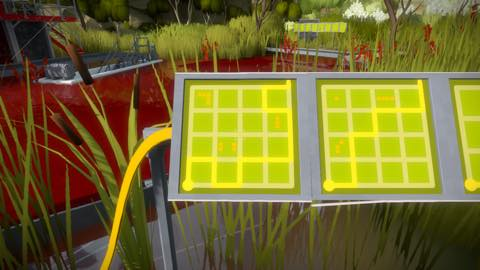 Th iPhoneゲームアプリ「The Witness」攻略 2089