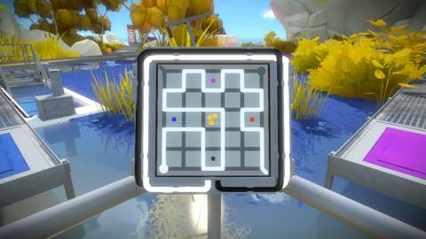 Th iPhoneゲームアプリ「The Witness」攻略 2093
