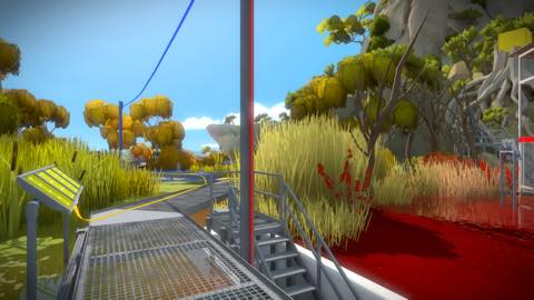 Th iPhoneゲームアプリ「The Witness」攻略 2105