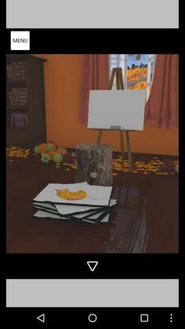Th 脱出ゲーム Autumn 紅葉とキノコとリスの家 攻略 1