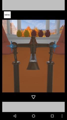 Th 脱出ゲーム Autumn 紅葉とキノコとリスの家 攻略 47