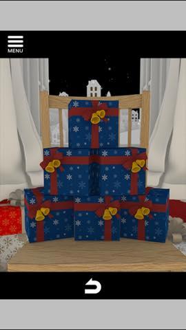 Th 脱出ゲーム Merry Xmas 暖炉とツリーと雪の家  攻略 3688