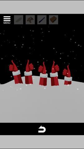Th 脱出ゲーム Merry Xmas 暖炉とツリーと雪の家  攻略 3709