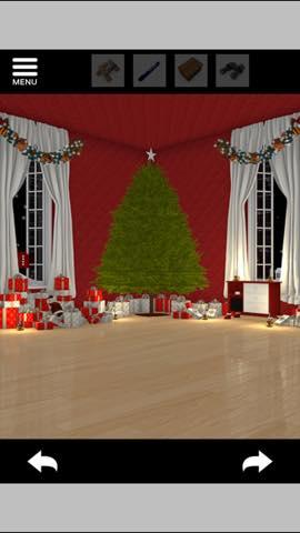 Th 脱出ゲーム Merry Xmas 暖炉とツリーと雪の家  攻略 3721